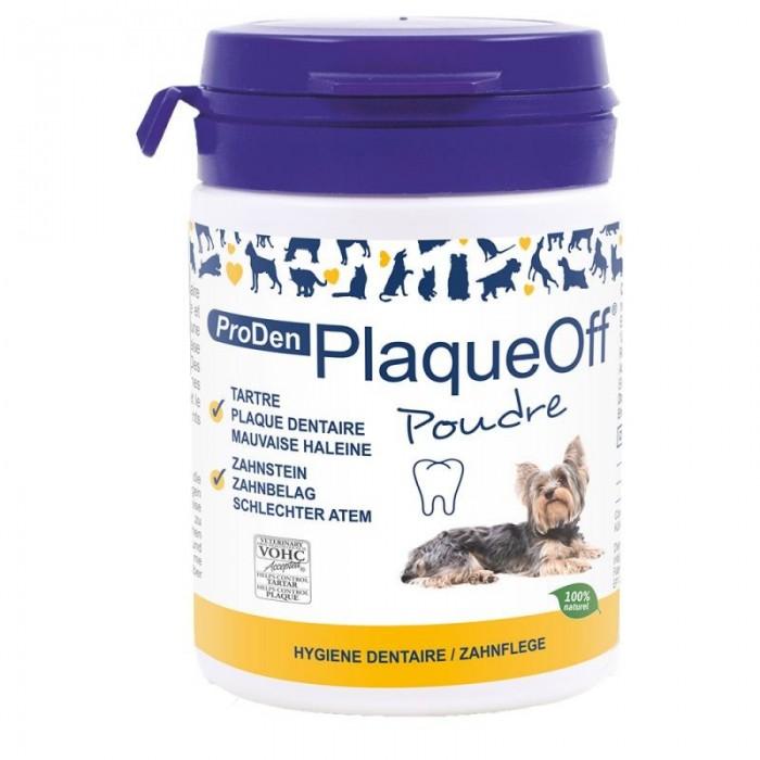 PlaqueOff® Chiens (Poudre 60 g)