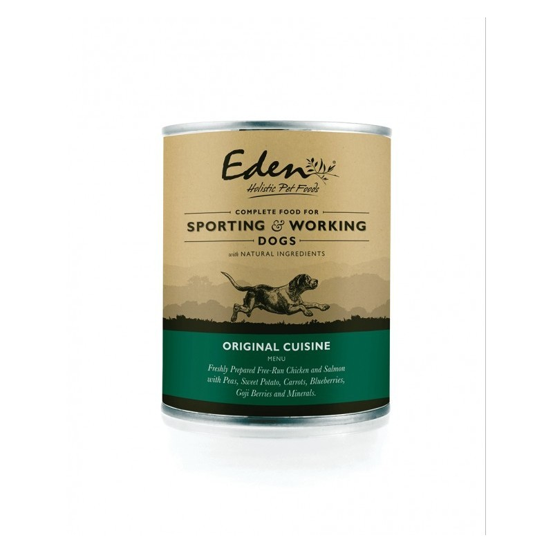 EDEN Aliment humide complet pour chiens adultes 400 g (2 variétés)