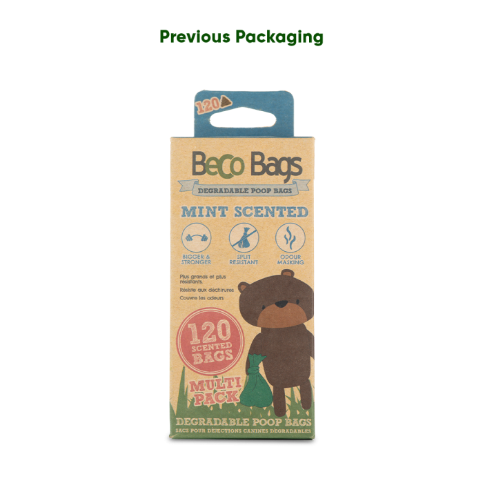 BecoBags Parfum Menthe (2 conditionnements)