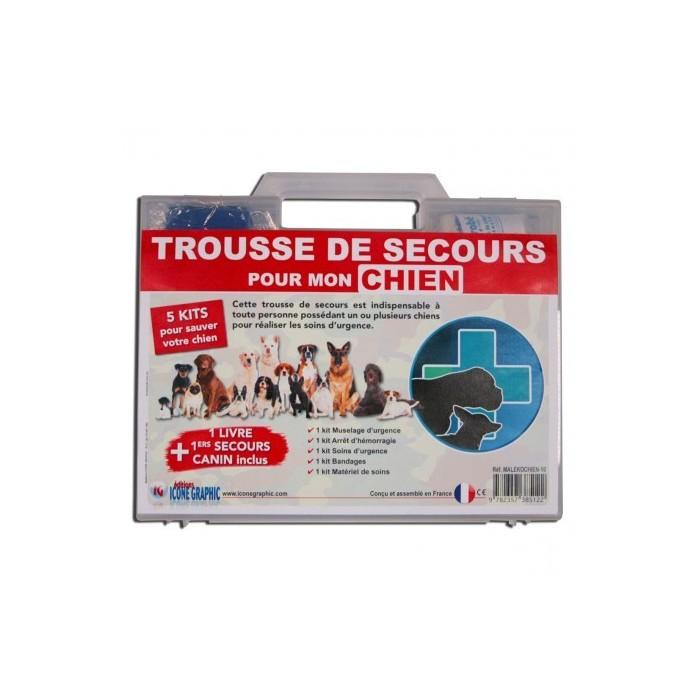Trousse/Malette de secours pour mon chien