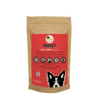 Energy – Friandises pressées à froid avec Protéines d'insectes + Goji (100 g)