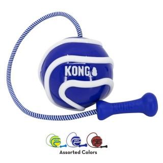 Balle Kong avec cordon élastique (Kong Wavz Bunji Ball) 2 tailles