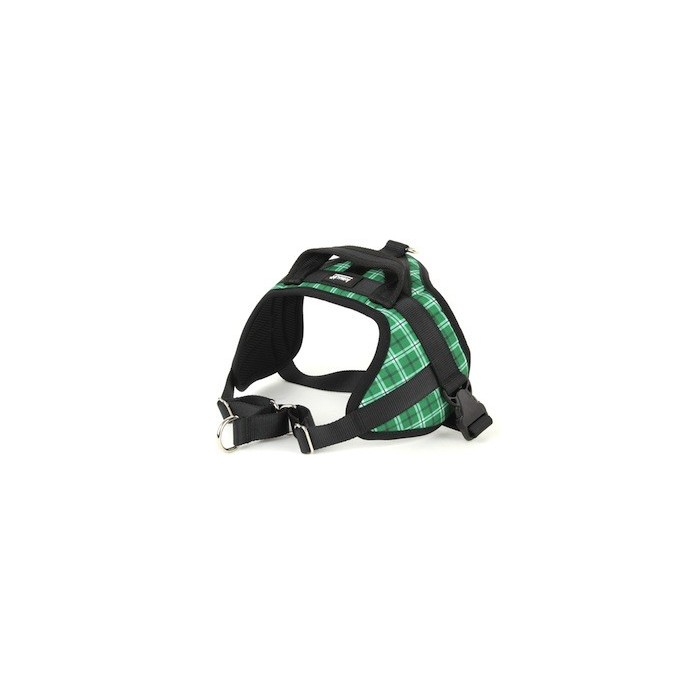 Harnais Animalin® ECOSSAIS Vert (7 tailles)