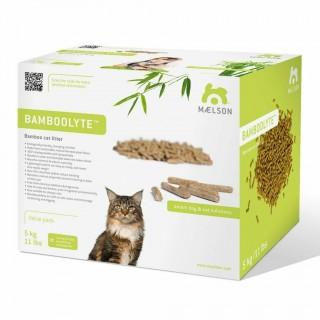 Bamboolyte - Litière agglomérante écologique pour chats