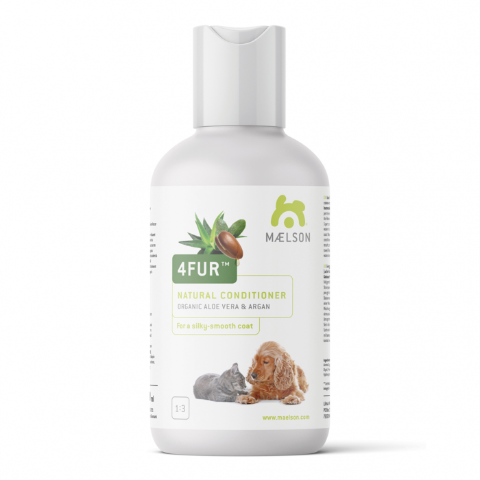 Shampooing revitalisant à l'Aloe Vera & Huile d'Argan Bio 250ml (Maelson 4FUR™ Natural Conditioner)