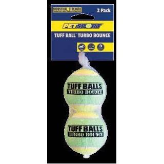 Balles de tennis Spécial Chiens (Turbo Bounce Tuff Balls)