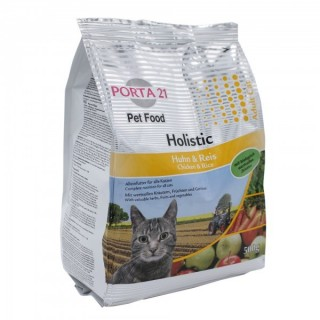 Croquettes holistiques pour chats (Porta21 Holistic CAT Chicken & Rice)