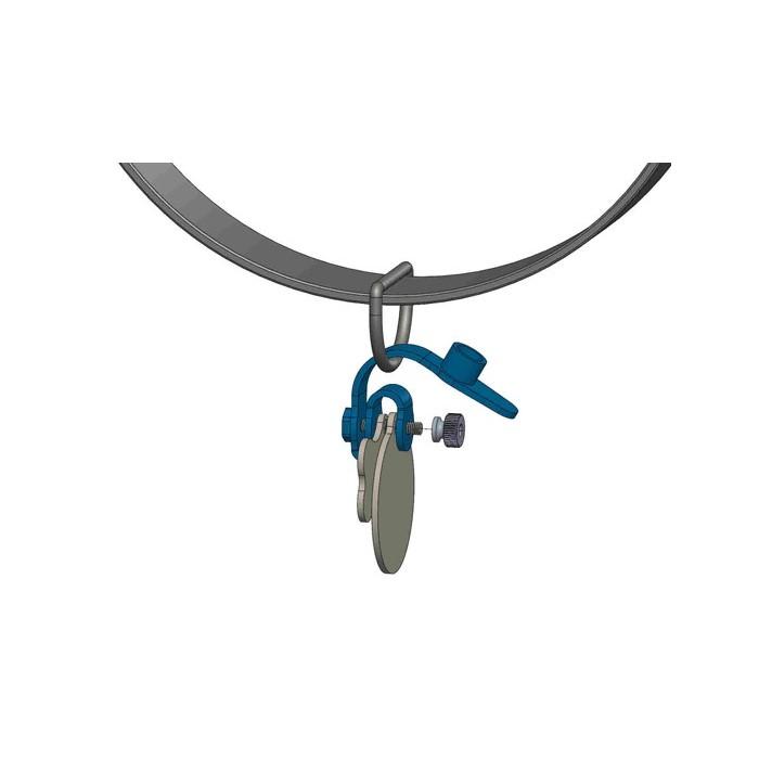 Porte-Médaille silencieux FreezeTag Holder