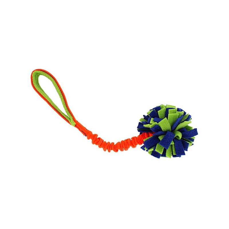 Tug Balles à franges + sangle élastique (Snuffle Ball Bungee Tug)