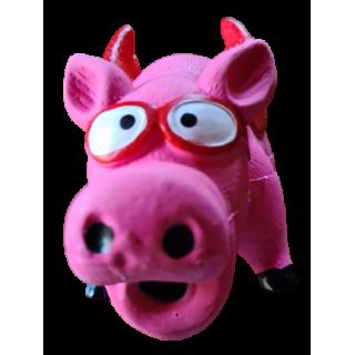 Cochon Ailé lunettes rouges - sonore