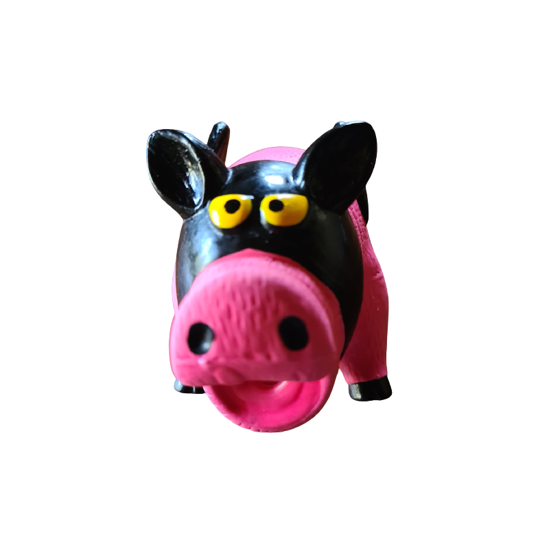 Cochon ailé masque noir