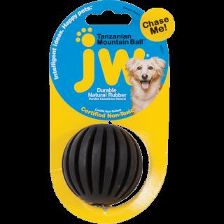 Mini Balle rainurée en caoutchouc naturel (JW Mountain Ball)