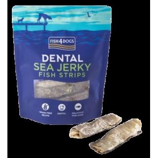 100 % Peaux de poisson – Barres craquantes – 100 et 500 g (Fish4Dogs Sea Jerky Fish Strips)
