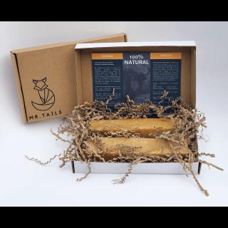 Snacks biologiques Churpi au lait de Yak (4 tailles - Emballage Carton)