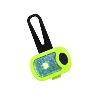 Lampe de Sécurité en silicone et ABS, rechargeable par USB (2 couleurs)