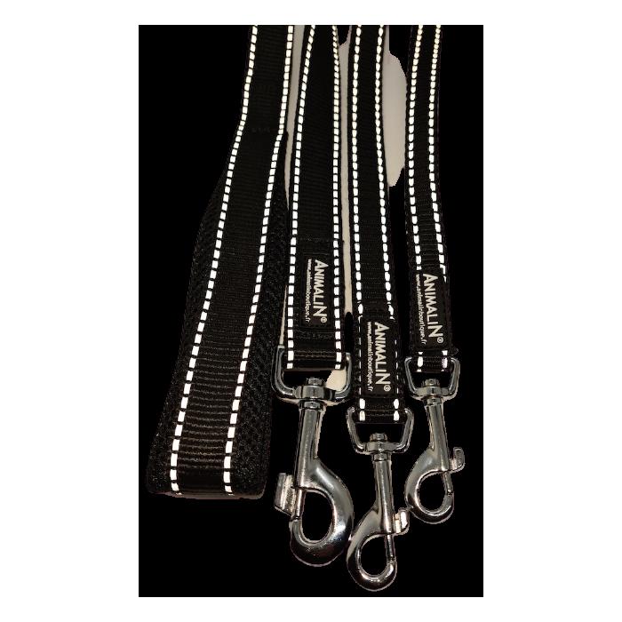 Laisse REFLEX Renforcée Animalin® 120 cm