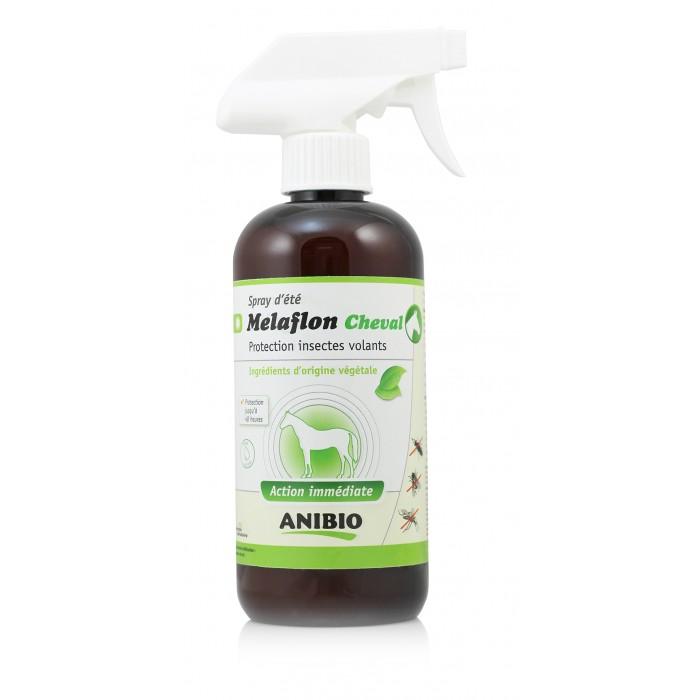 Mélaflon Cheval (Répulsif Insectes ANIBIO 500 ml)
