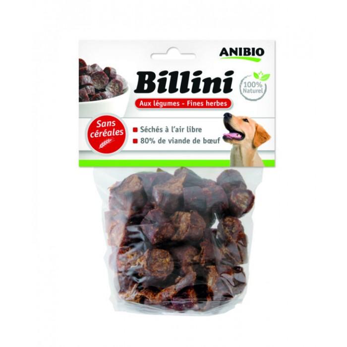 Billini au bœuf & sans gluten (130 g et 400 g)