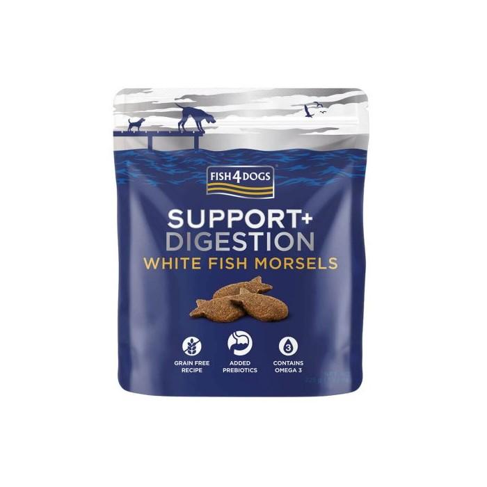 Biscuits au saumon et poisson blanc (Support+ Digestion Fish4Dogs) 225 g