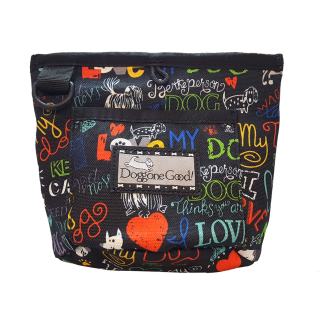"Pochette Trek'n Train Edition Limitée ""I Love My Dog"""