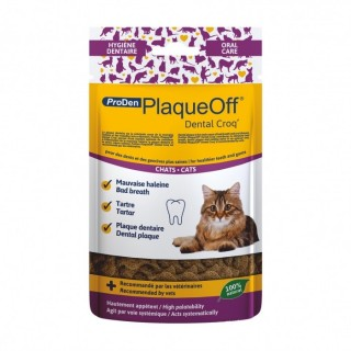 PlaqueOff Dental Croq' Chats (60 g)