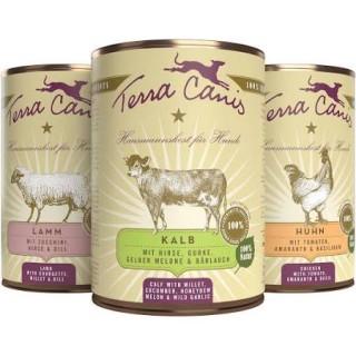 Menus Terra Canis Classiques (4 variétés)