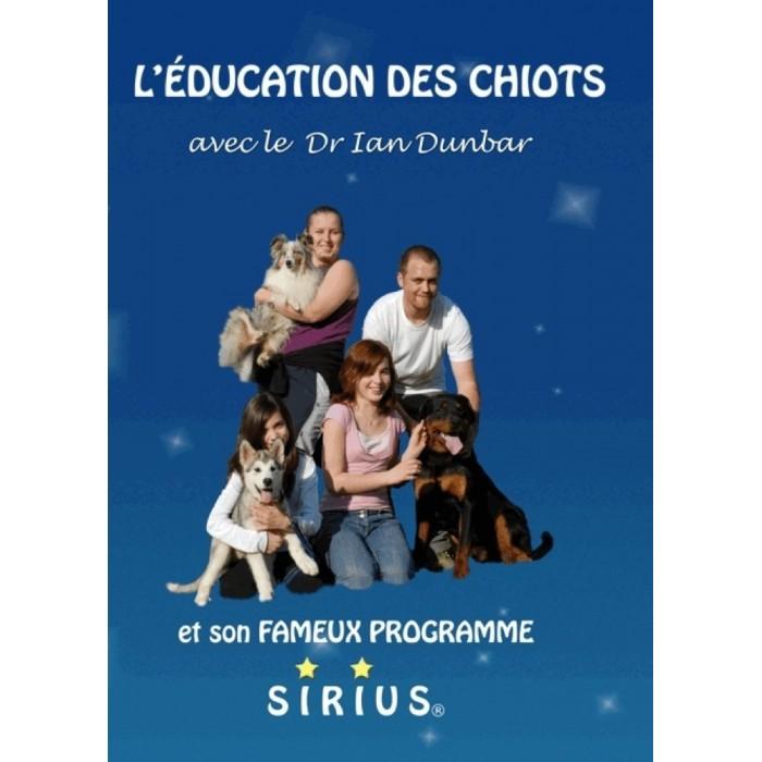 """DVD """"L'Éducation des Chiots"""" - Ian Dunbar - 120 min."""